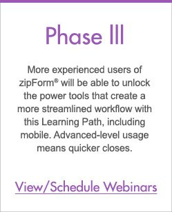 Phase III - zipLogix Learning Paths™