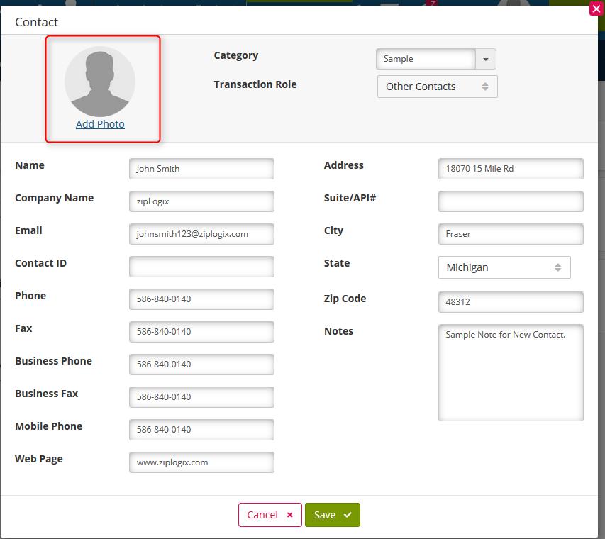 Adding Contacts to your Address Book in zipForm® Plus | Real Estate