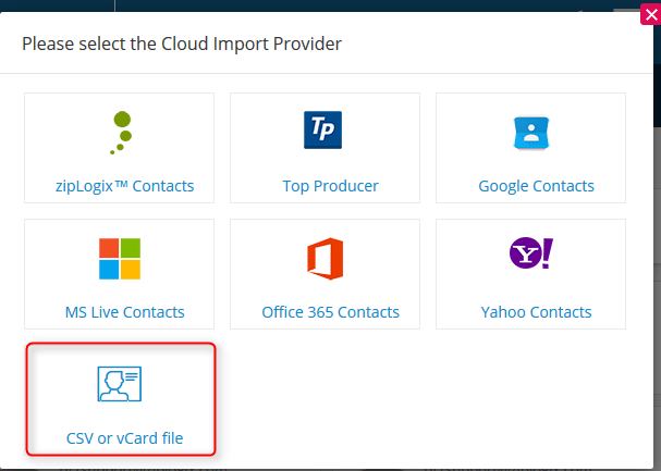 How to Import and Export Contacts in zipForm® Plus   Real