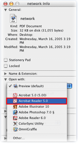 How to Set Adobe Acrobat as the Default PDF Reader in Mac OSX in