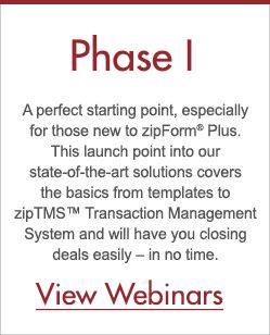 Phase I - zipLogix Learning Paths™